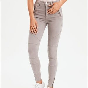 AEO Super High-waisted Jeggings Size 10 Short